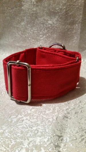 collar martingale para perros color rojo modelo c16