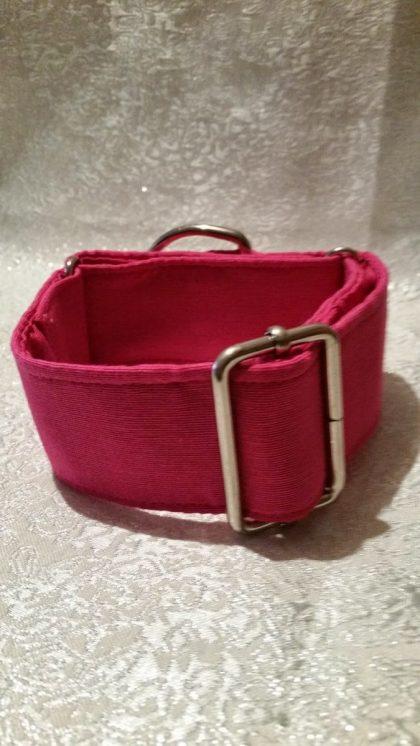collar martingale para perros color rosa modelo c18