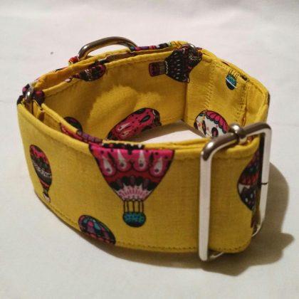 collar para perros de color amarillo modelo C34