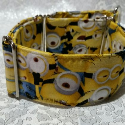 collar para perros de los minion hecho a mano modelo C21