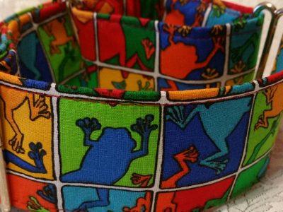 collar para perros multicolor modelo C31