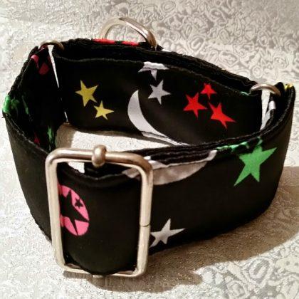 collar para perros original con estrellitas modelo C24