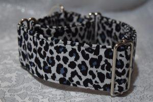 collar martingale para galgos animalprint cebra modelo C93