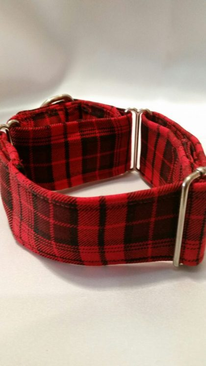 collar para galgos rojo escocia modelo C76