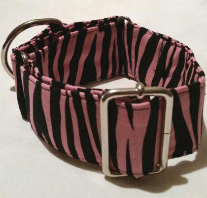 collar para perros animalprint rosa modelo C71