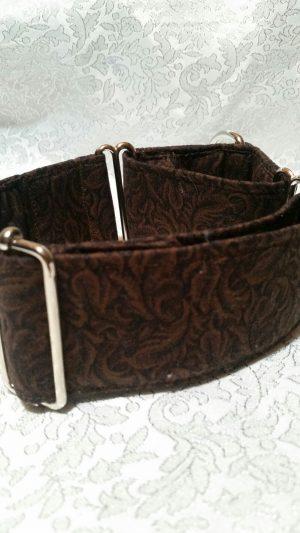 collar para perros antiescape de color marron modelo C64