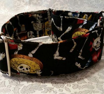 collar para perros con esqueletos mejicanos modelo C57