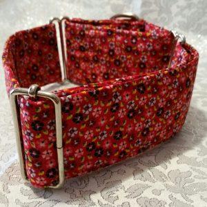 collar para perros con florecitas modelo c56