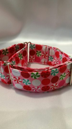 collar para perros de color rosa modelo C81