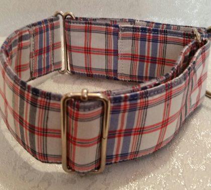 collar para perros tejido escoces modelo C61