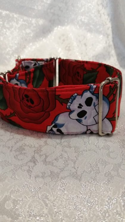collar rojo para perros modelo C66