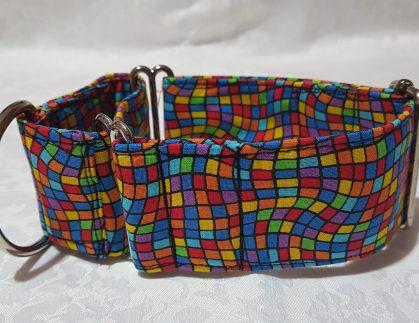collar multicolor para perros modelo C42