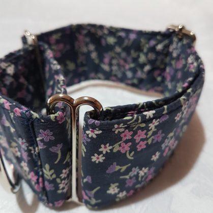 collar antiescape para galgos con mariquitas modelo C74