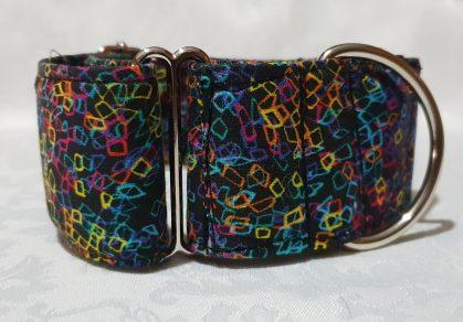 collar martingale para perros con colorines mod c8