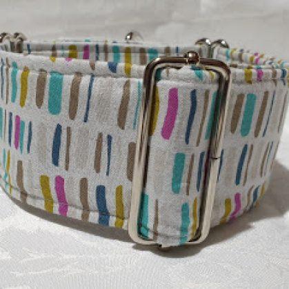 collar martingale para perros muy colorido modelo c145