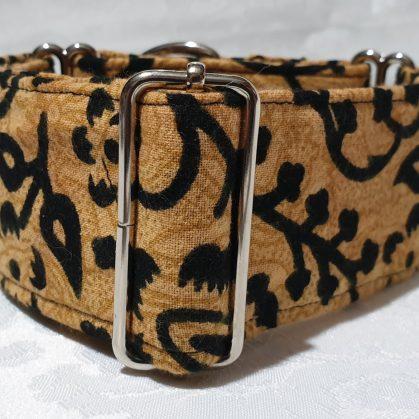 collar martingale para perros tipo animal print tigre